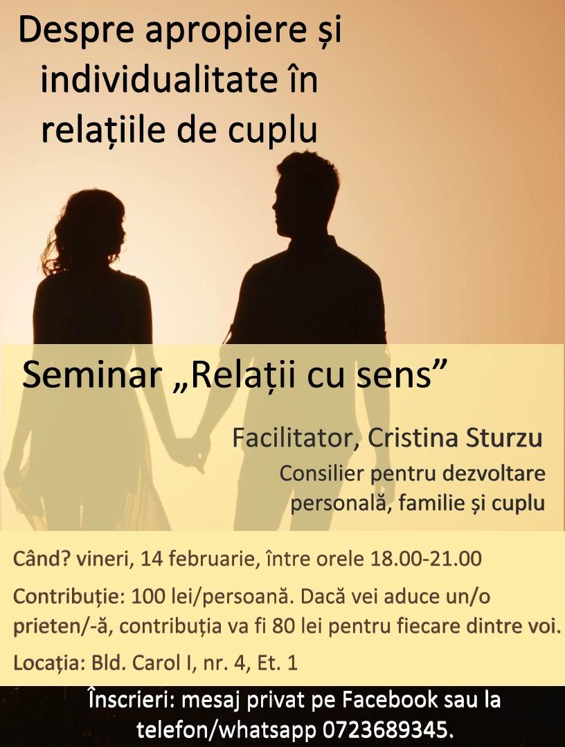 Relații cu sens 14 februarie